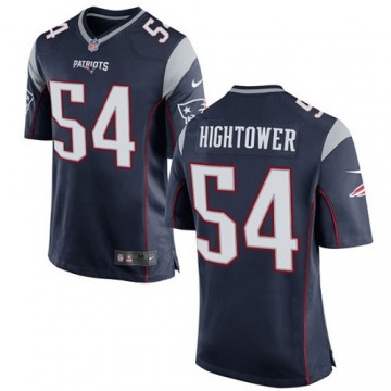 Men's Dont'a Hightower New England Patriots Nike Game Team Color Jersey - Navy Blue