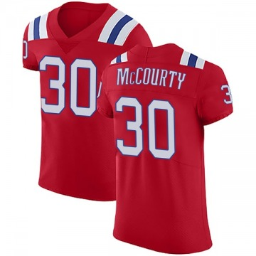 Men's Jason McCourty New England Patriots Nike Elite Vapor Untouchable Alternate Jersey - Red