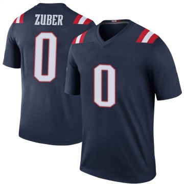 Youth Isaiah Zuber New England Patriots Nike Legend Color Rush Jersey - Navy