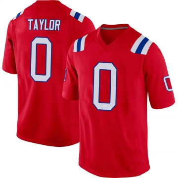 Youth J.J. Taylor New England Patriots Nike Game Alternate Jersey - Red